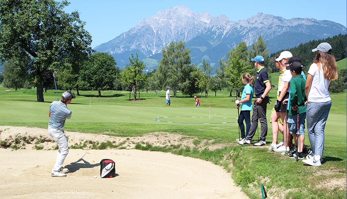 Junior Golfcamp: Sport